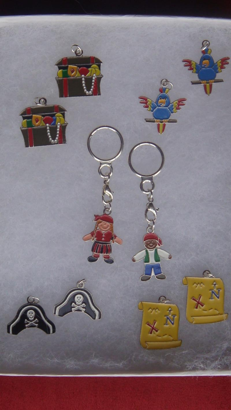 Pirate Changeable Charms