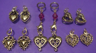 Heart Changeable Charms