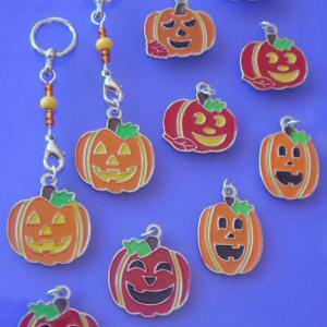 Jack O'Lantern Changeable Charms