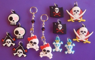 Skull Changeable Charms